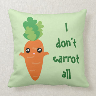 Lustig tue ich nicht Karotte aller Kissen