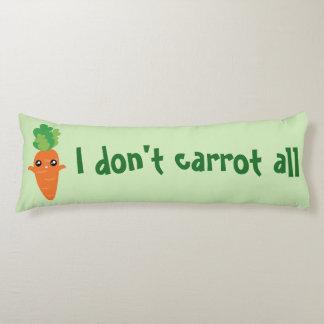 Lustig tue ich nicht Karotte aller Seitenschläferkissen