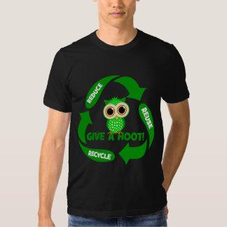 lustig verringern Sie Wiederverwendung recyceln T-shirt