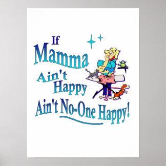 Lustig, wenn Mamma nicht ist, nicht ist Poster