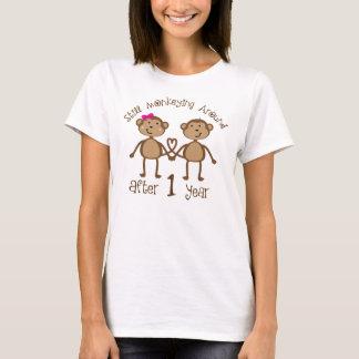 Lustige 1. Hochzeitstag-Geschenke T-Shirt