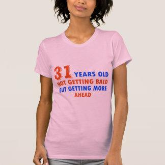 lustige 31 Jahre alte Geburtstagsentwurf T-Shirt