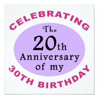 Lustige 50. Geburtstags-Gag-Geschenke Personalisierte Ankündigung