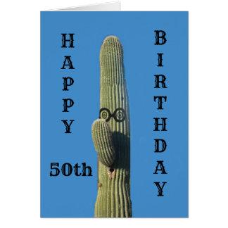 Lustige 50. Geburtstags-Karte Karte