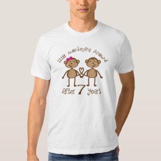 Lustige 7. Hochzeitstag-Geschenke Shirts