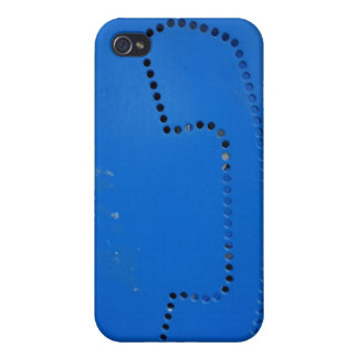 Lustige allgemeine Lohn-Stand-Silhouette iPhone 4/4S Cover