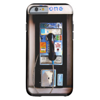 Lustige allgemeine Münztelefon-Fotografie New York Tough iPhone 6 Hülle