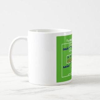 Lustige amerikanische Fußballspieltaktiken, Kaffeetassen