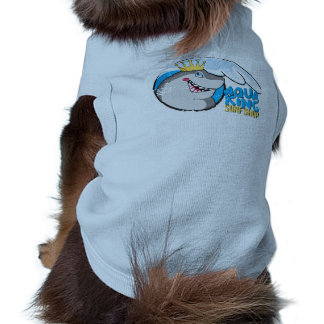 Lustige Ärmelfreies Hunde-Shirt