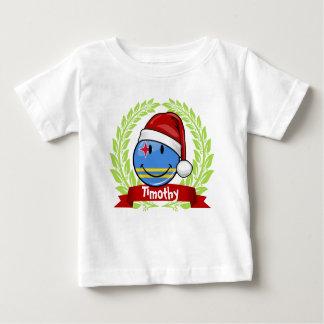Lustige Aruba-Flaggen-Weihnachtsart Baby T-shirt