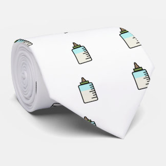 Lustige BabyMilchflasche-Krawatte Krawatte