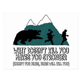 Lustige Bären Postkarte
