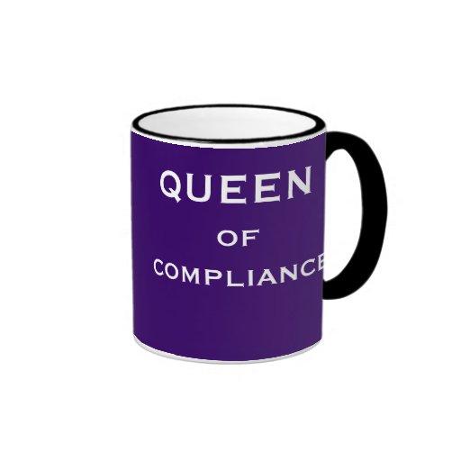 Lustige Befolgungs-Stellenbezeichnung u. weibliche Tee Haferl