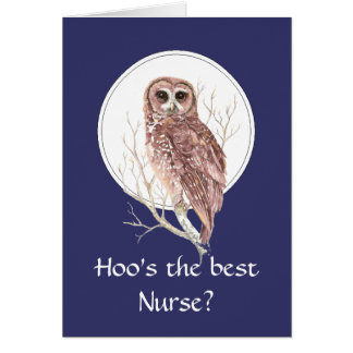 Lustige beste Krankenschwester? Danke kluge Grußkarte