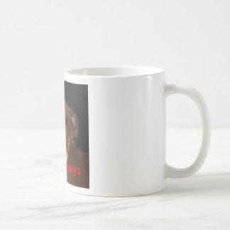 "Lustige Boxer-Hunde""ich hasse Montag"" Kaffeetasse"