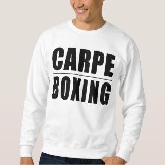 Lustige Boxer-Zitat-Witze: Carpe Verpacken Sweatshirt