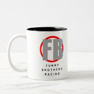 Lustige Bruder-Tasse Zweifarbige Tasse