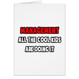 Lustige Chef-Hemden und Geschenke Karte