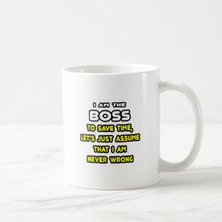 Lustige Chef-T-Shirts und Geschenke Tasse