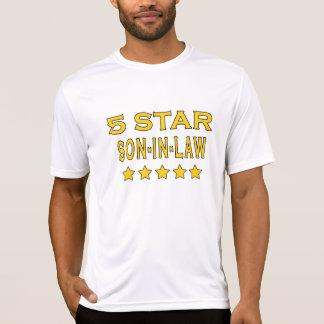 Lustige coole Geschenke: Fünf Stern-Schwiegersohn Tshirts