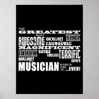 Lustige coole Musiker-Geburtstage: Bestster Musike Poster