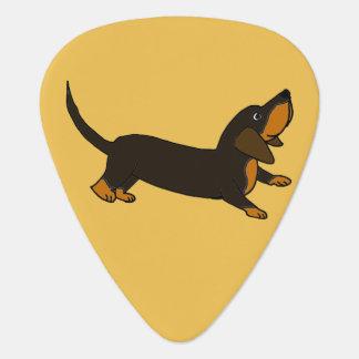 Lustige Dackel-Playful Welpen-Hund Plektron