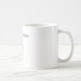 Lustige Dyslexie/O.C.D. Design Kaffeetasse