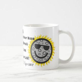Lustige Eklipse-Kaffee-Tasse Kaffeetasse
