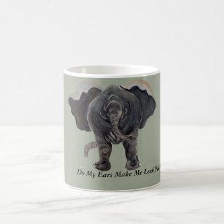Lustige Elefant-Kaffeetasse Kaffeetasse