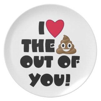 Lustige Emoji Liebe Teller