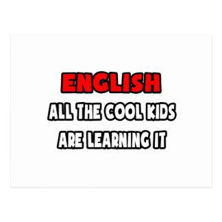 Lustige Englischlehrer-Hemden und Geschenke Postkarte