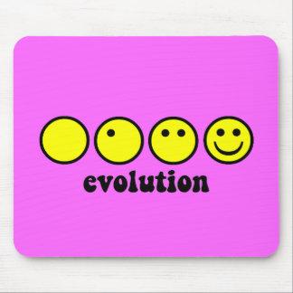 Lustige Evolution Mousepads