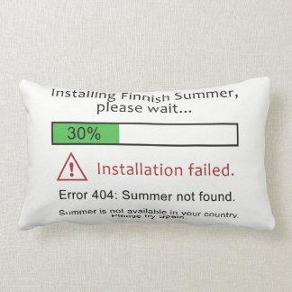 Lustige finnische Sommer-Wurfskissen Lendenkissen