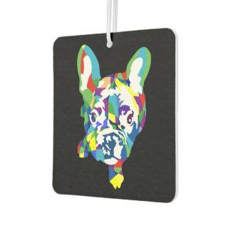 Lustige französische Bulldoggen-Illustration Autolufterfrischer