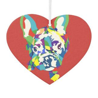 Lustige französische Bulldoggen-Illustration Lufterfrischer