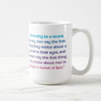 Lustige Frauen-Zitat-Tasse