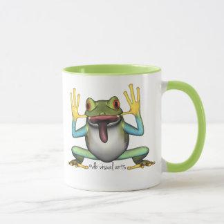 Lustige Frosch-Tasse Tasse