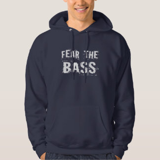 Lustige Furcht der Bass-Hoodie Hoodie