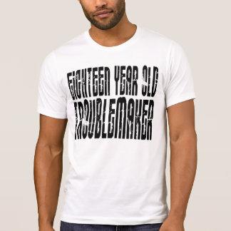 Lustige Geburtstage: Achtzehn Jährig-Unruhestifter T-Shirt
