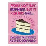 Lustige Geburtstags-Karte für Frau - Glück ist Kuc