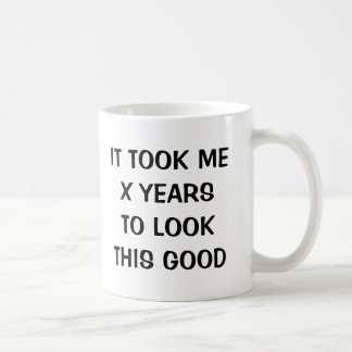Lustige Geburtstagsgag-Kaffee-Tasse für Männer und Tasse