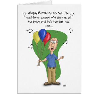 Lustige Geburtstagskarten: Geburtstags-Melodie Karte