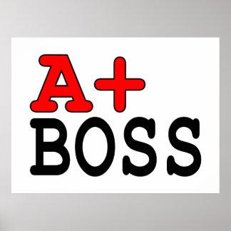 Lustige Geschenke für Chefs: A+ Chef