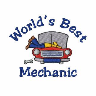Lustige gestickte Mechaniker-T-Shirts - fertigen