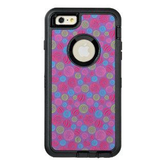 Lustige gestreifte Süßigkeiten in der Pastellfarbe OtterBox iPhone 6/6s Plus Hülle
