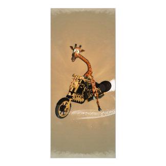 Lustige Giraffe 10,2 X 23,5 Cm Einladungskarte
