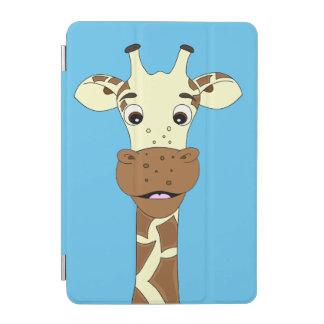 Lustige Giraffen-Cartoonkinder iPad Mini Hülle