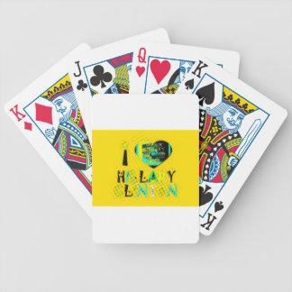 Lustige goldene reizende fantastische Hoffnung Bicycle Spielkarten