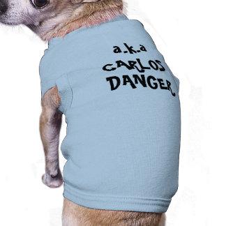 Lustige Haustier-Kleidungs-Witz-HundeT - Ärmelfreies Hunde-Shirt