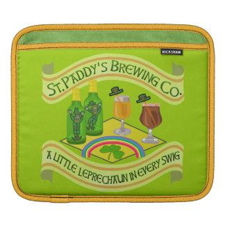 Lustige Heiligen Patrick Tageskobold-Brauerei iPad Sleeve